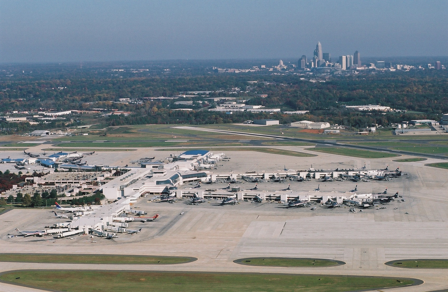 Ctl Airport Best Airport - Charlotte usa airport map