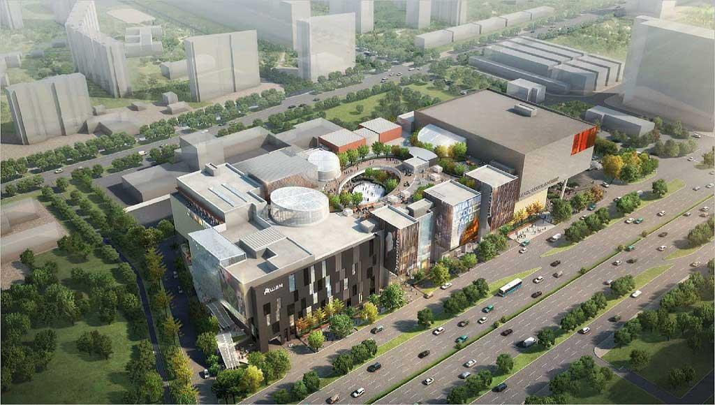 Kashirskaya shopping center mxd development strategists for Xd garden design